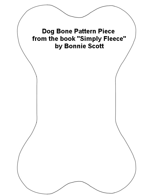 It is an image of Ambitious Dog Bone Template Printable
