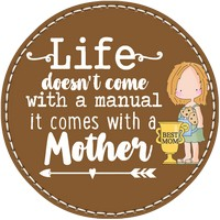 Mother's Life in Brown Leather