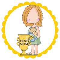 Best Mom in Yellow