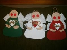 Homemade Christmas Angel Crafts