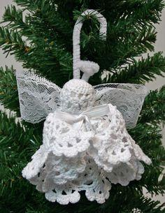 Doily Angel tutorial