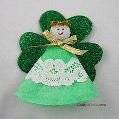 Shamrock Angel tutorial