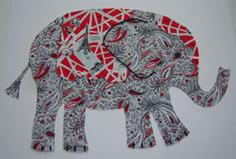 Tutorial for making Elephant Wall Art!