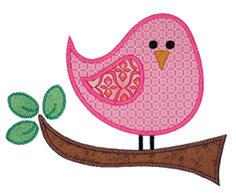 Birdee Two Applique