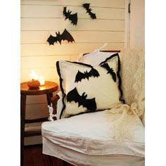 Halloween Applique Pillow