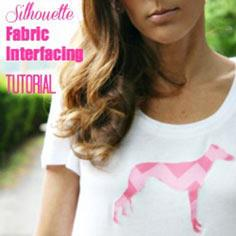 Silhouette Fabric Interfacing Applique