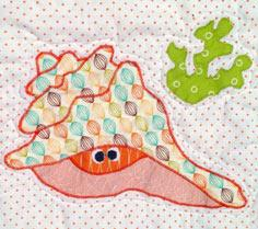 Conch Shell Applique | Craftsy