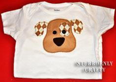 Dog Applique Pattern