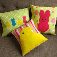 Pop Art Peep Pillows