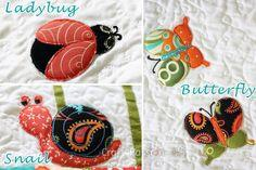 Bugs Applique Patterns