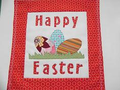 Happy Easter Wall Hanging Tutorial & Pattern
