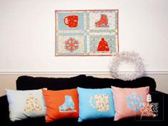 Sweet Silhouettes Wall Hanging
