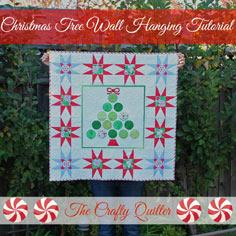 Christmas Tree Wall Hanging Tutorial