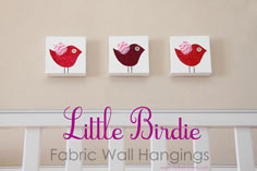 Little Birdie Wall Hangings