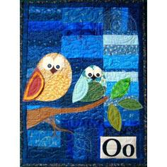 Owl Applique Wall Hanging Pattern