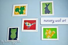 Nursery Wall Art Craft