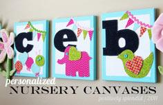 Whimsical Nursery Wall Hangings