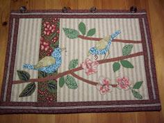 Beatrice Euphemie: Applique Wall Hanging