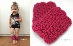 Crochet Scalloped Leg Warmers