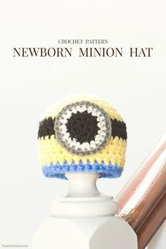 Baby Minion Crochet Hat