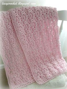 Lacy Stitch Baby Blanket