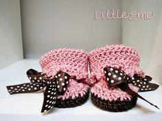 Sweet Little Baby Moccasins