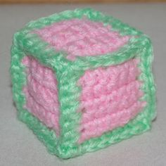 Stuffed Toy Block Pattern
