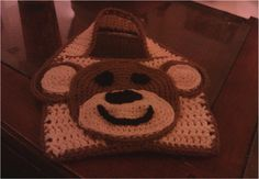 Monkey bib pattern