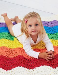 End of the Rainbow Blanket