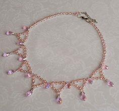 Free Pattern For Beaded Necklace Zefir
