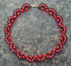 Beaded Necklace Rosana