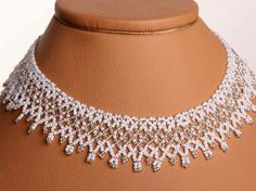 Beaded Wedding Necklace Dia