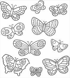 30+ Butterfly Templates