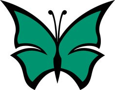butterfly color irish green