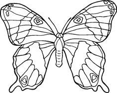 coloring pages of butterflies