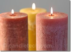 Cold-Pour/Rustic Candles