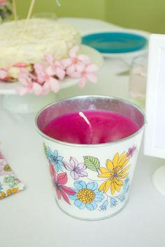 Centrepiece Candle Tins Tutorial
