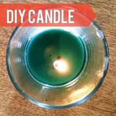 Easy DIY candle