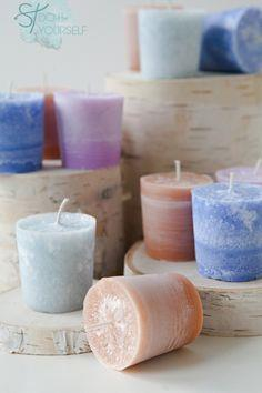 Make votive candles the easy way