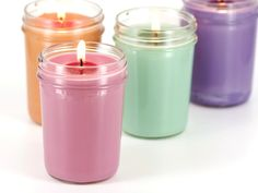Make Soy Container Candles