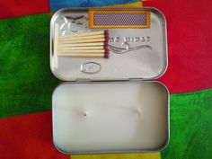 Mint Tin Candle