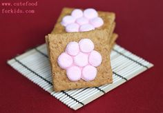 Cute Food For Kids?: Stylish S'mores