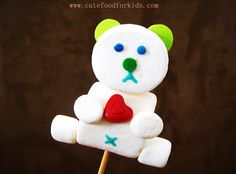 Marshmallow Pop: Teddy Bear