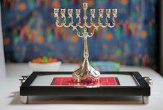 Candy Mosaic Chanukah Tray