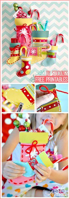 DIY Christmas Stocking Printable