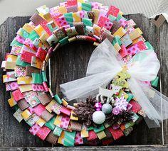 Loop-de-Loop Wreath