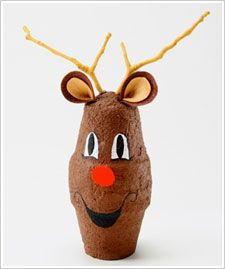 Reindeer with Brown Texture Paint