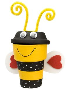 Cute Bee Pot