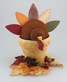 Air Freshener Turkey Centerpiece