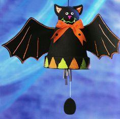 Bat Wind Chime